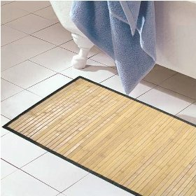 Bamboo Rug Floor Mat Natural